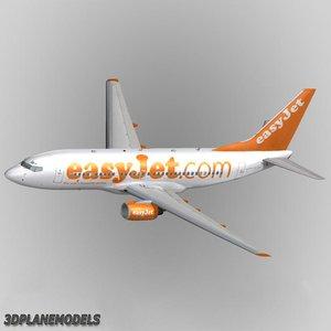 max b737-700 easyjet 737