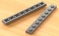 Lego 8x1-Thin