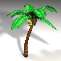 3d model banana tree palm