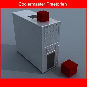 cooler computer case obj