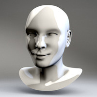 cate human female head dxf