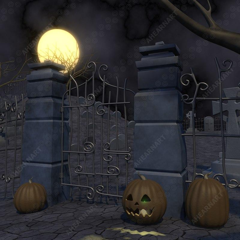 graveyard c4d
