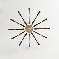 nelson spindle clock 3d model