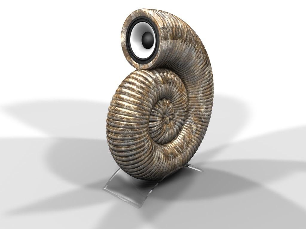 c4d snail speaker