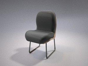 chair cusion 3d model
