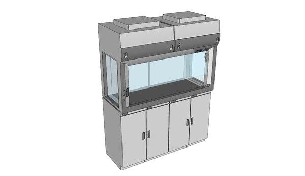 3ds labconco paramount carbon-filtered enclosure