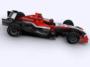 3d midland f1 car 2006