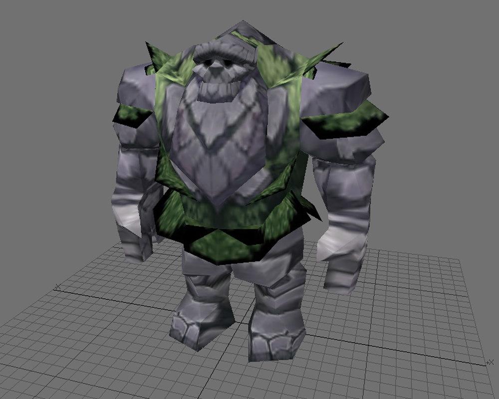 free lwo model warcraft moutain gaint