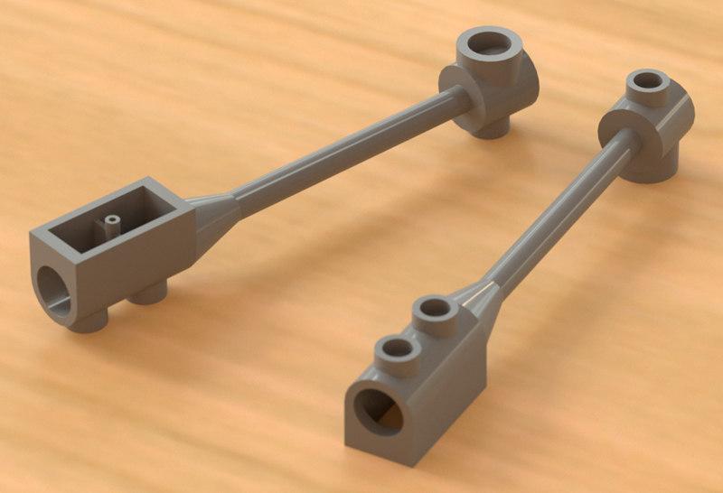 3d lego phaser