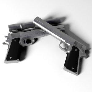 dwg amt longslide pistol