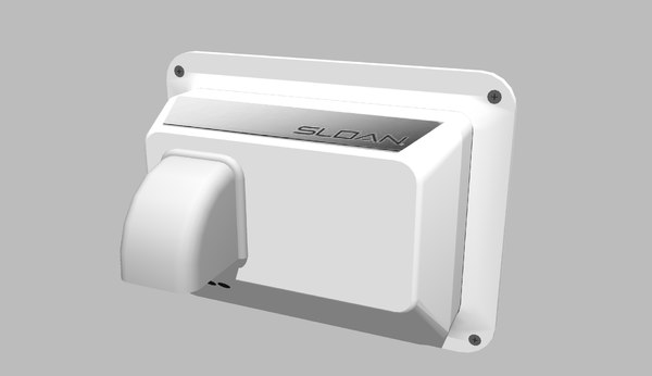 free 3ds mode sloan optima ehd-451-452-454 recessed