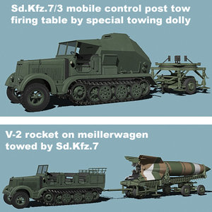 3ds wwii v-2 sd kfz