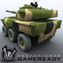 Game Ready - PTL02 100mm Wheeled Assault Gun 01