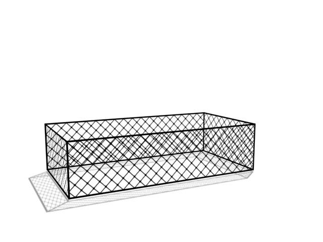 3d max fence