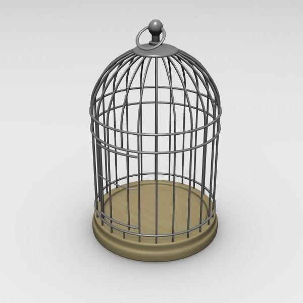 bird cage 3d 3ds