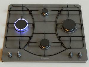3d model gas cooktop