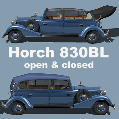 horch 830bl 3ds