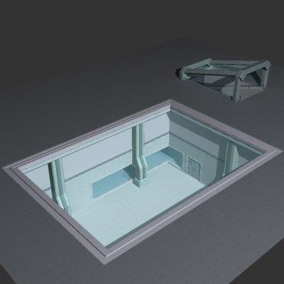 3d laboratory model