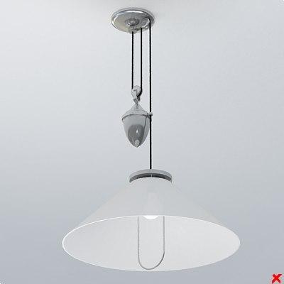 dxf lamp hanging