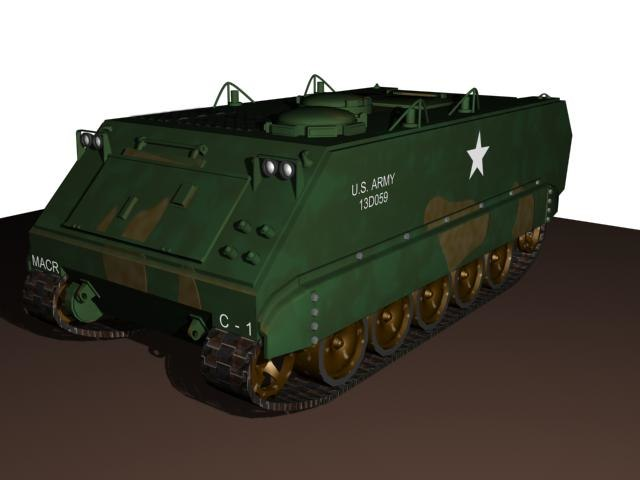 m113 tank max