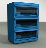 free magazine rack 3d model