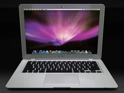 3d apple macbook air model