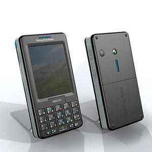 3d sony ericsson mobile phone