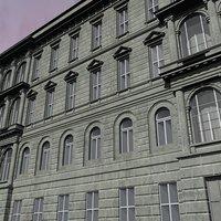 3d fasades model