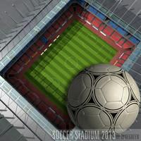 3d football ium