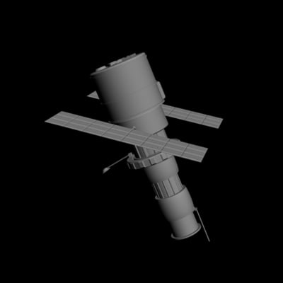 3dsmax satellite