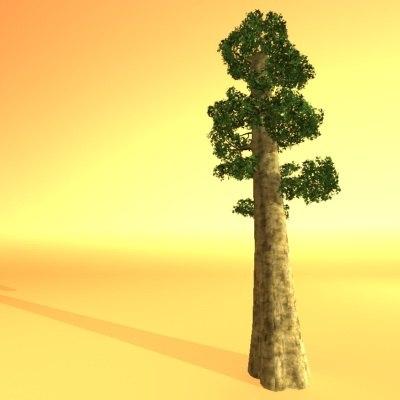 wood redwood 3d max