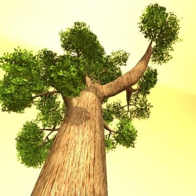 wood canada redwood 3d max