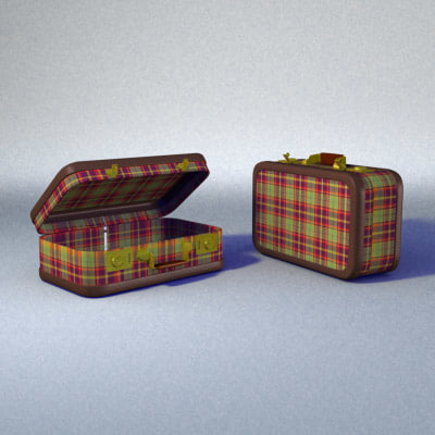 lightwave old suitcase
