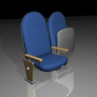 3ds max theater seats