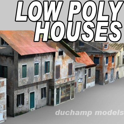3dsmax old houses