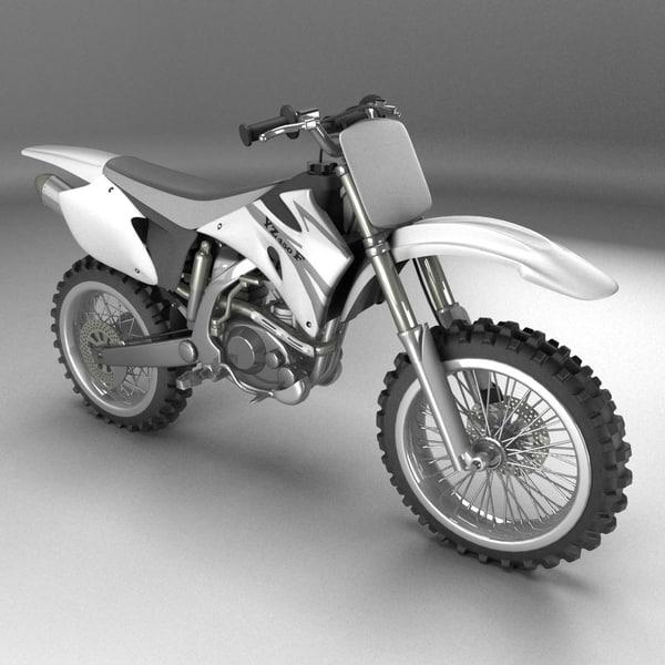 3ds max yamaha bike
