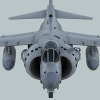 harrier fa mk2 3d model