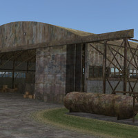 3ds max deathmatch hangar