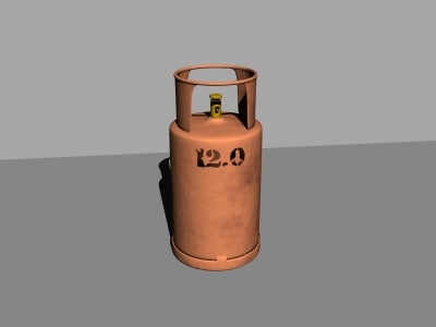 free lwo model gas container