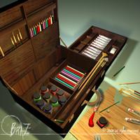 Artist suitcase