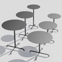 3ds max table designed foster