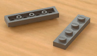 Lego 4x1 Thin