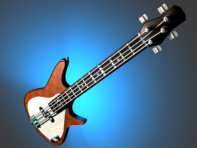 maya electric bass