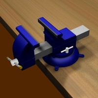 bench vise animation max