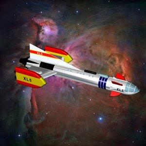 3d fireball xl5 rocket ships