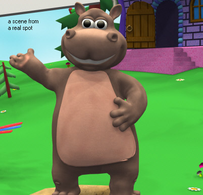 3d max toy hippo