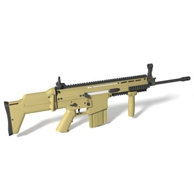fn scar-h assault rifle max