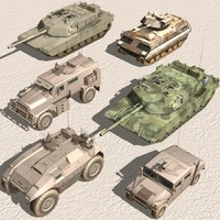 US Army-Armored Vehicle-Set