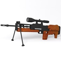 walther wa2000 sniper rifle dwg