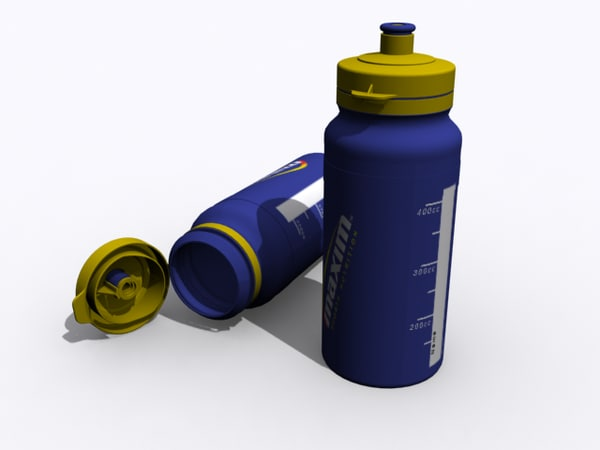 water bottle 3ds